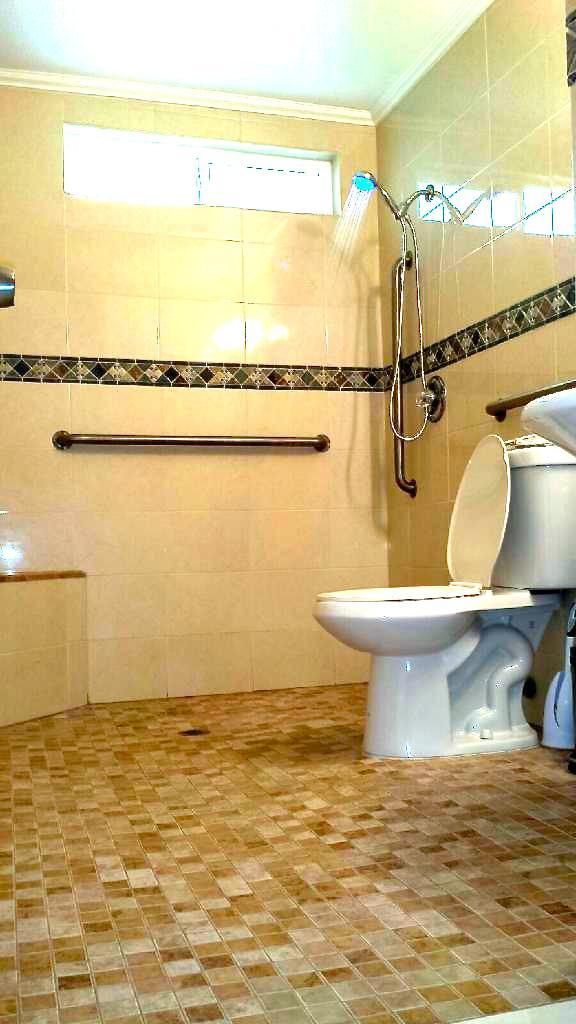 Non-ambulatory shower room 1