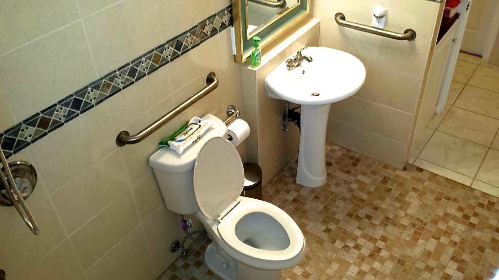 Non-ambulatory shower room 2