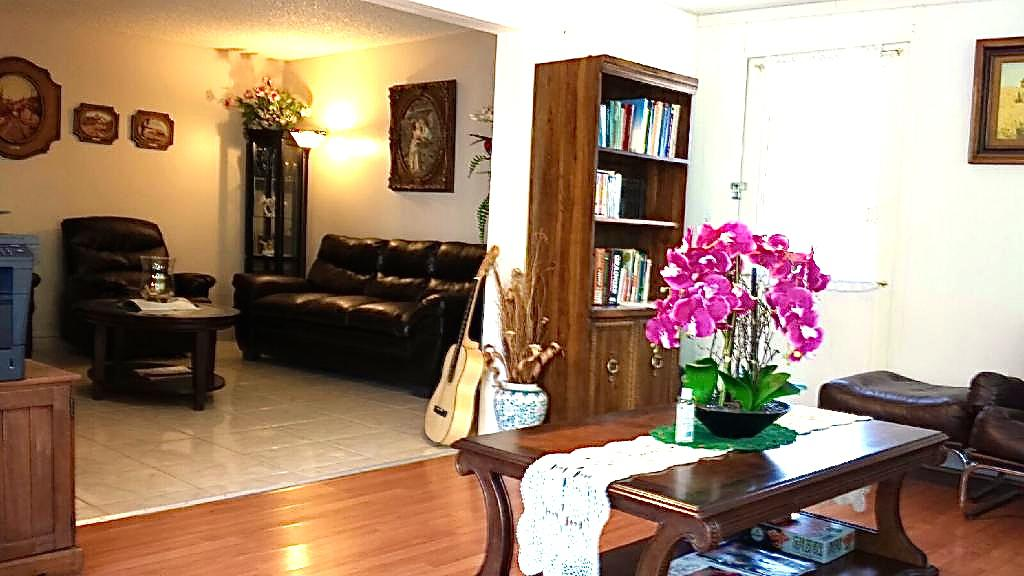 Family Room and reading area